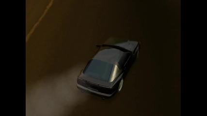 Малко дрифт в Live For Speed 0.1w