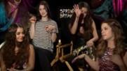 Spring Breakers Interview Selena Gomez Vanessa Hudgens Ashley Benson and Rachel Korine