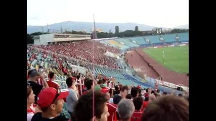 Цска София - Динамо Москва 0 - 0 А ние сме Цска, Цска !!!