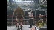 WCW - Масов Кеч Мач В Тройна Клетка (C Превод)