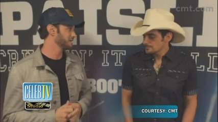 Brad Paisley's advice for CMT's Josh Wolf