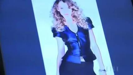 Тейлър Суифт Зад кулисите на фотосесията си за списание Ел