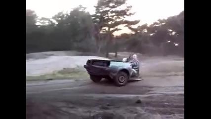 Пич кара половин кола