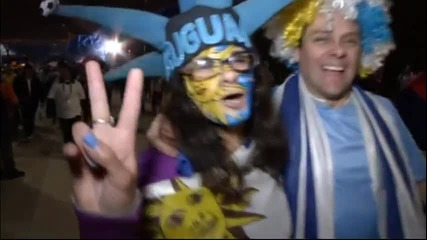Уругвайска радост в Сао Пауло, англичаните страдат