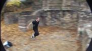 За този човек гравитация не съществува !! Nody - G freeruningnparkour 2009