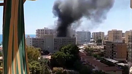 Spain: Major fire breaks out at Benicassim hotel