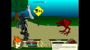 Aq My Hero:battle With Firezard