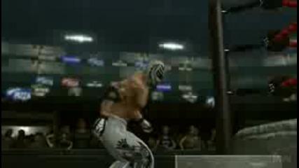 Svr 2009 Rey Mysterio Entrance + Finisher