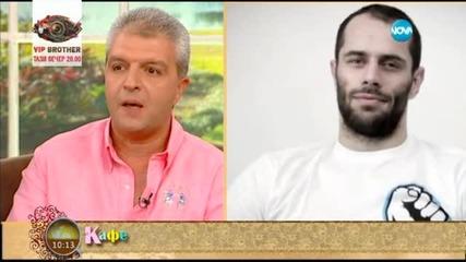 Коментаторите за ММА боецът Деян Топалски