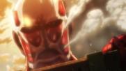 Attack on Titan Епизод 1 Bg Subs Върховно Качество