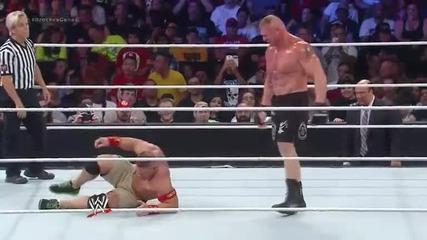 Brock Lesnar vs John Cena - Summerslam 2014