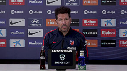 Spain: 'There's always a first time in life'- Atletico's Simeone on chances of winning Barcelona clash