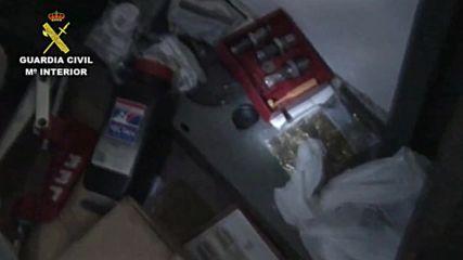 Spain: Six held in 'dark web' weapons bust