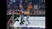 Jamie Noble (c) w/ Nidia vs. Shannon Moore (wwe Cruiserweight Championship Match) - Wwe Smackdown