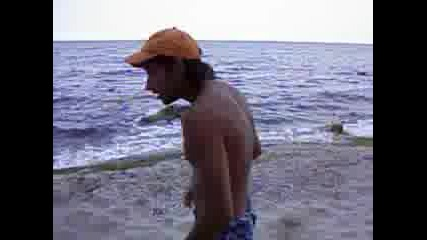 Палуване На Плажа На Галата
