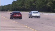 2003 Cobra vs Tt 2010 Camaro Ss.wmv