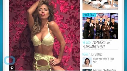 Nicole Scherzinger Goofs Around in Sexy Lingerie