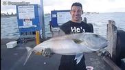 Улов на голяма риба без въдица