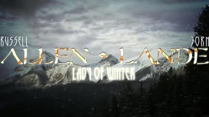 Allen / Lande - Lady of Winter Lyric Video ( Official New Studio Album 2014)