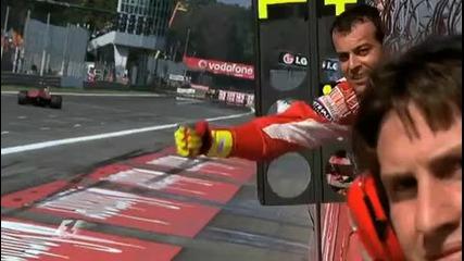 2010 F1 Italian Grand Prix Highlights (monza)