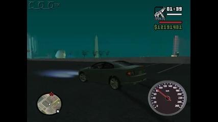 Gta San Andreas:първи опити за дрифт