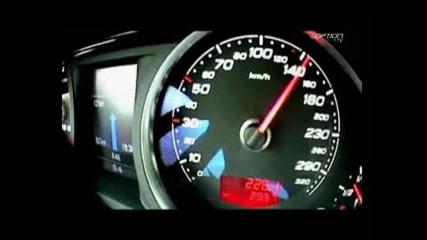 Лудо Ускорение На Audi Rs6 290км/ч
