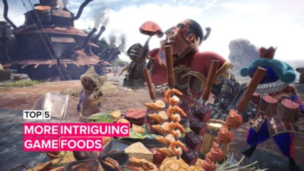 5 More Intriguing Game Foods