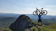 Над 150км с колело, до мистичните места - Вран камък и махала Бодят!
