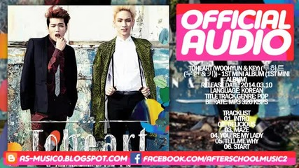 Toheart (key & Woohyun) Intro