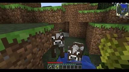 Minecraft Aspic Survival #3 - Търсене на крави
