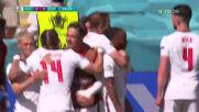 Рахийм Стърлинг изведе Англия напред в резултата