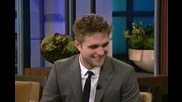 Robert Pattinson on Jay Lenos Show ;}