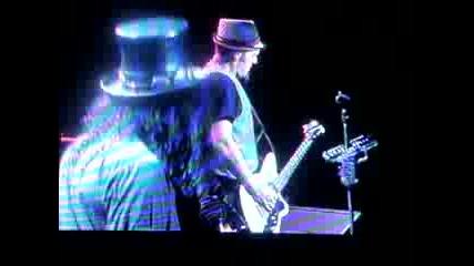 Fergie Ft. Slash - Sweet Child O Mine Live