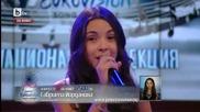 Победителката Габриела Йорданова в кастинга Детска Евровизия 2015