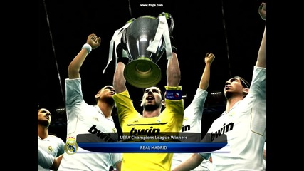 Уефа шампионска Купа-реал Мадрид