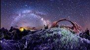 Планетарни панорами, 360 градуса нощно небе Time-Lapse