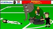Дузпата за Гърция срещу Кот Д'ивоар - 442oons
