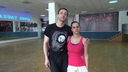 Dancing Stars - Интервю с Дарин и Ани 15.03.2014 г.
