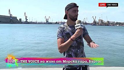 THE VOICE LIVE от TEEN BOOM FEST 2021: D-ZastA в ролята на наш водещ в бекстейджа (22/08/2021) [4]