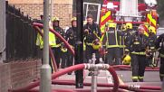 UK: Residents evacuated as fire breaks out in four-storey block in Bethnal Green