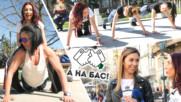 Стотици МАЦКИ легнаха да правят лицеви опори в центъра на София (А на бас)