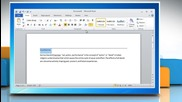 Microsoft® Word 2010: How to add lines and boxes to document on Windows® 7?