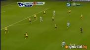 Манчестър Сити - Блекбърн 3:0 ( Premier League 25.02.2012 )