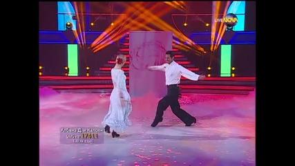 Dancing Stars - Албена Денкова и Калоян болеро (29.04.2014г.)