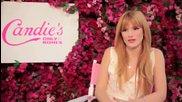 Bella Thorne - Candie's girl 2014