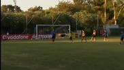 ВИДЕО: Гърците с първа тренировка при Раниери