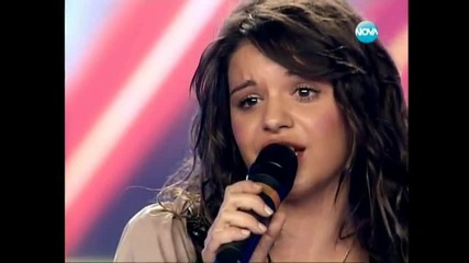 X Factor Bulgaria - Girl with Big ..eyes