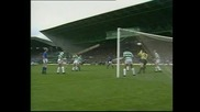 Terry Butcher scores at the Piggery