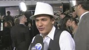 Bronson Pelletier on the red carpet at Twilight Saga New Moon premiere in La