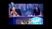 Скандал В Music Idol - Мария И Соня Васи Се Счепкаха На Кастинга Във Варна 02.03.09